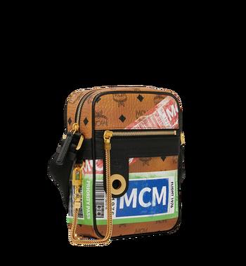 MCM Traveler Crossbody in Flight Print Visetos Alternate View 2