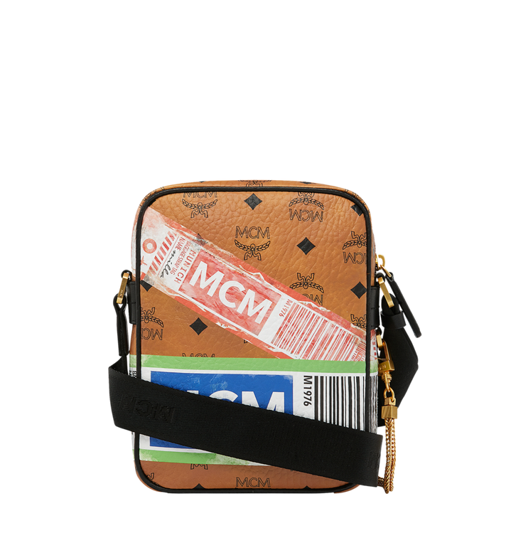 MCM Crossbody-Tasche für die Reise in Flight Print Visetos Alternate View 4