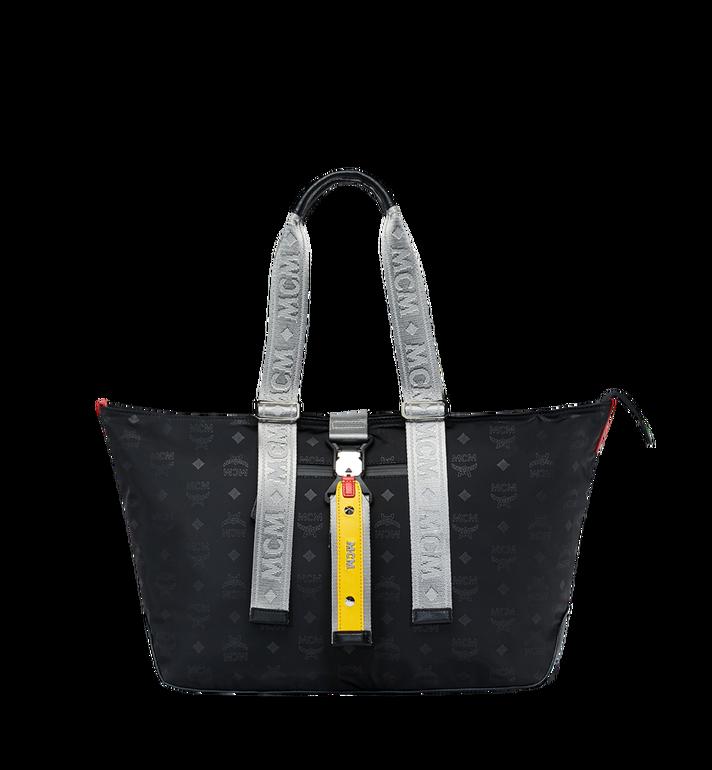 MCM Resnick Shopper Tasche aus Nylon mit Monogramm Alternate View