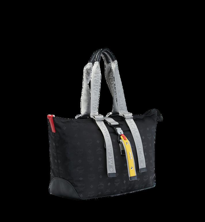 MCM Resnick Shopper Tasche aus Nylon mit Monogramm Alternate View 2