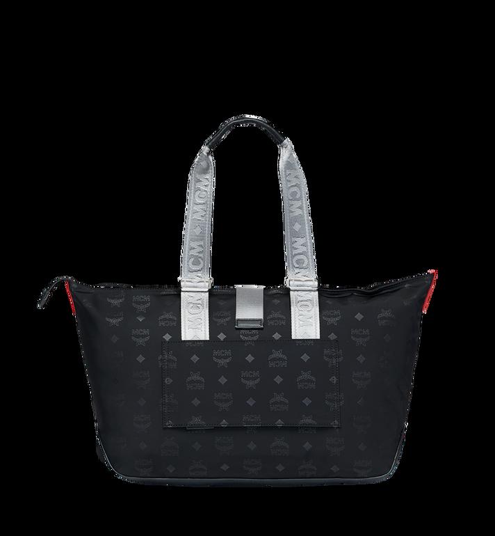 MCM Resnick Shopper Tasche aus Nylon mit Monogramm Alternate View 4