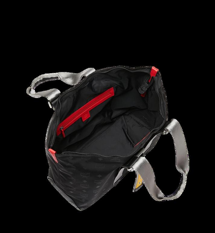 MCM Resnick Shopper Tasche aus Nylon mit Monogramm Alternate View 5