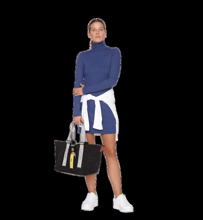MCM Resnick Shopper Tasche aus Nylon mit Monogramm Alternate View 7