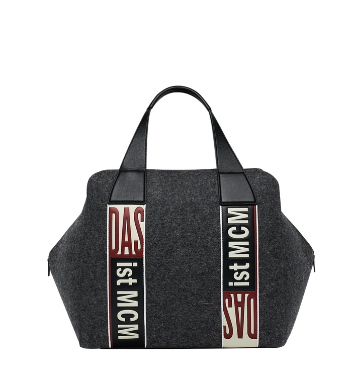 MCM Stadt Tote in Loden MUT8ASD10EP001 AlternateView