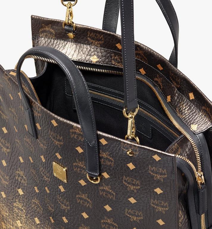 MCM Tote Bag in Gradation Visetos Alternate View 4