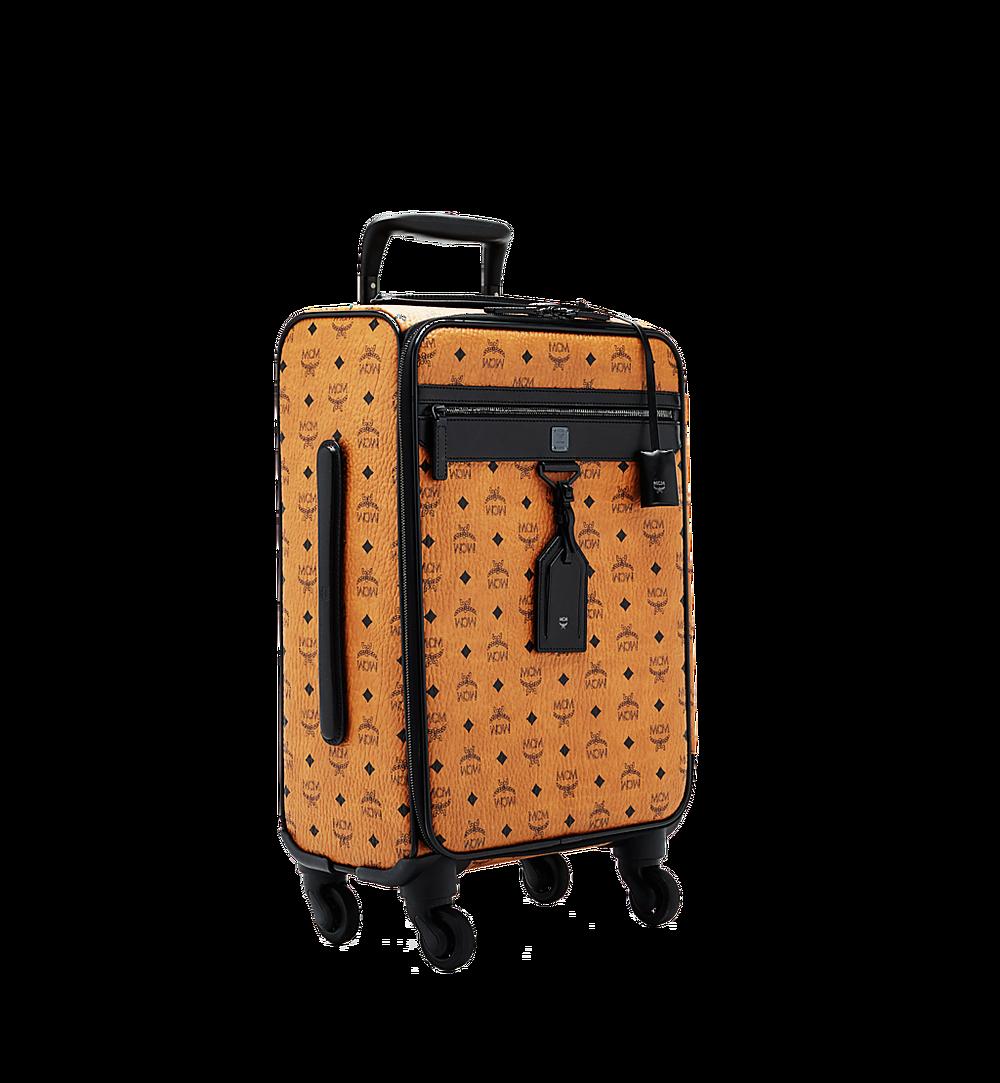 MCM Traveler Kabinentrolley in Visetos Cognac MUV6SHE14CO001 Noch mehr sehen 1