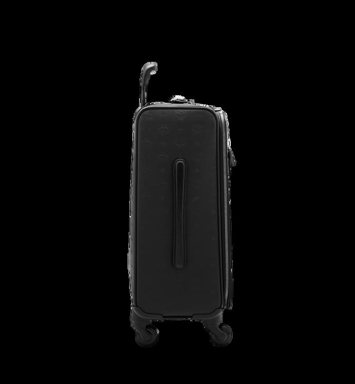 MCM Sac à roulettes pour cabine Traveler en Odeon Black MUV6SHE28BK001 Alternate View 3