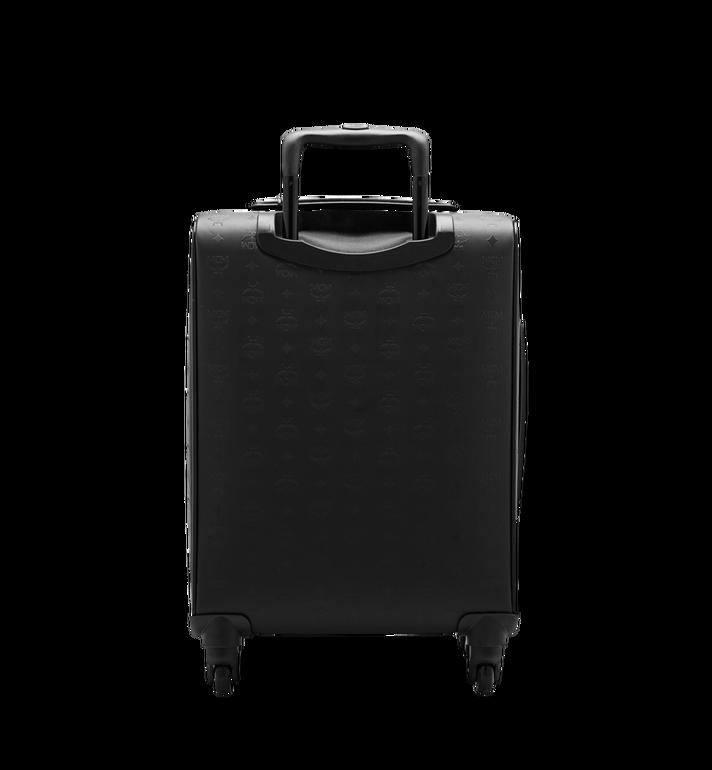 MCM Sac à roulettes pour cabine Traveler en Odeon Black MUV6SHE28BK001 Alternate View 4