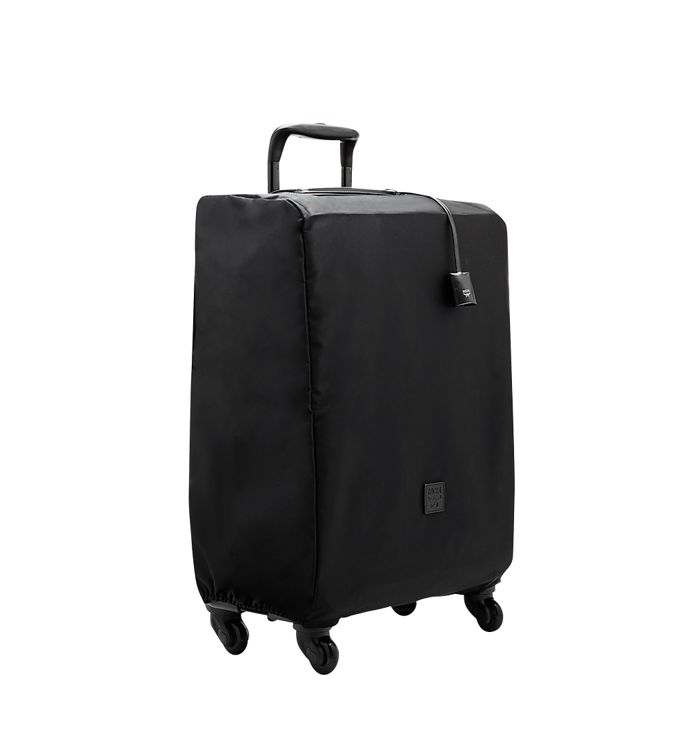 MCM Traveler Cabin Trolley in Odeon Black MUV6SHE28BK001 Alternate View 4