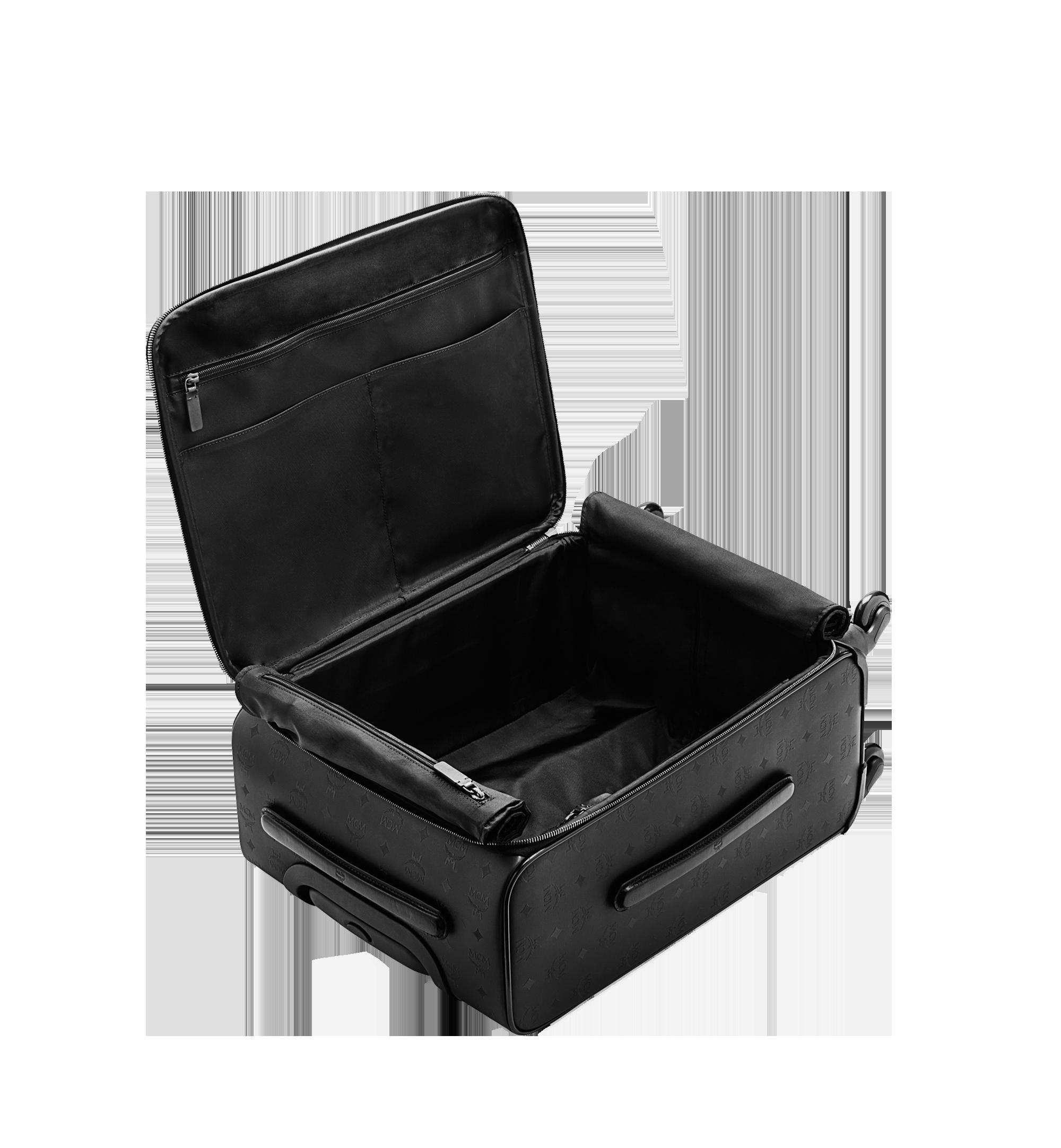 MCM Traveler Kabinentrolley in Odeon Black MUV6SHE28BK001 Noch mehr sehen 5