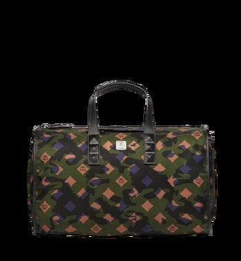 MCM Dieter Weekender-Tasche aus Nylon in Camouflage - Ausführung. MUV7ADT09GX001 AlternateView