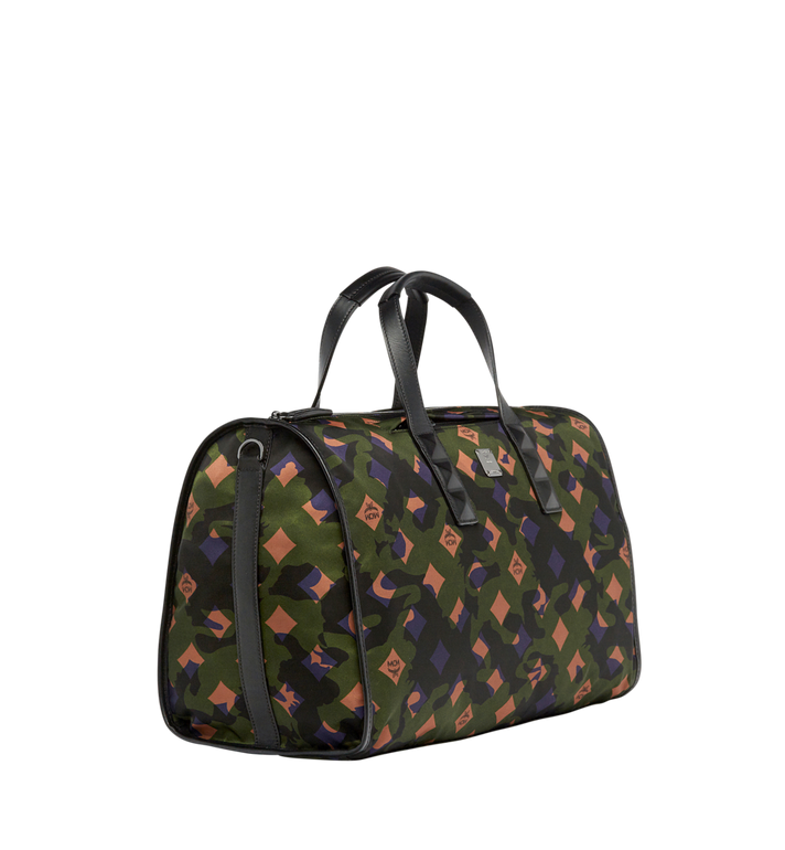 MCM Dieter Weekender-Tasche aus Nylon in Camouflage - Ausführung. Alternate View 2
