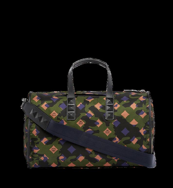 MCM Dieter Weekender-Tasche aus Nylon in Camouflage - Ausführung. Alternate View 4