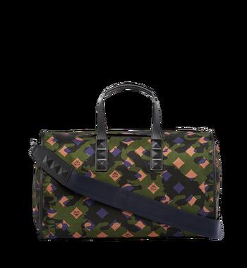 MCM Dieter Weekender-Tasche aus Nylon in Camouflage - Ausführung. MUV7ADT09GX001 AlternateView4