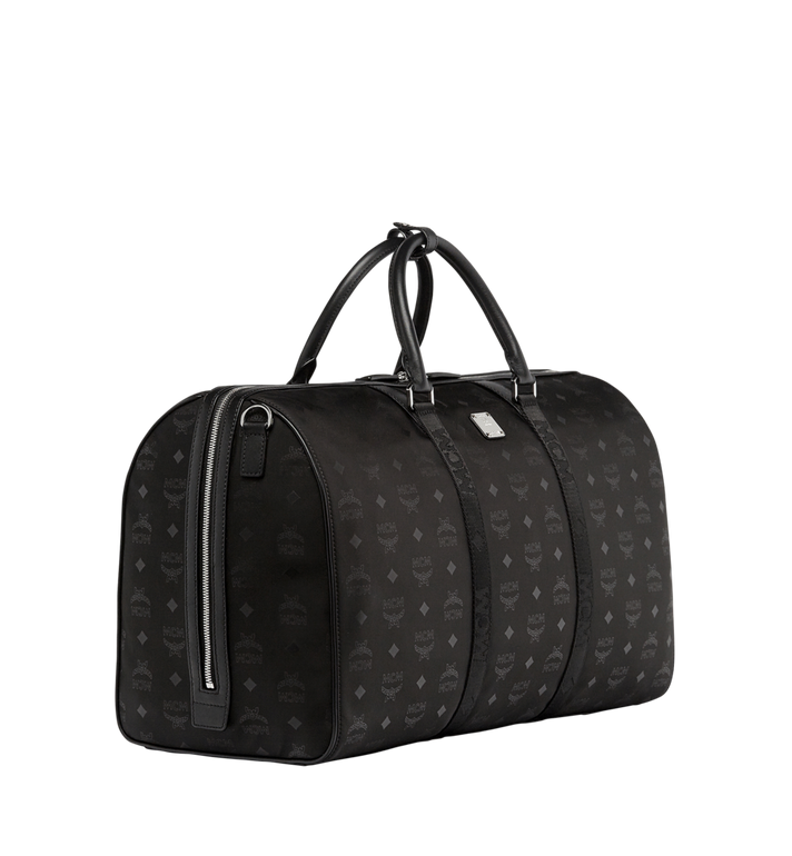 MCM Traveler Weekender in Monogram Nylon Black MUV7ADT14BK001 Alternate View 2
