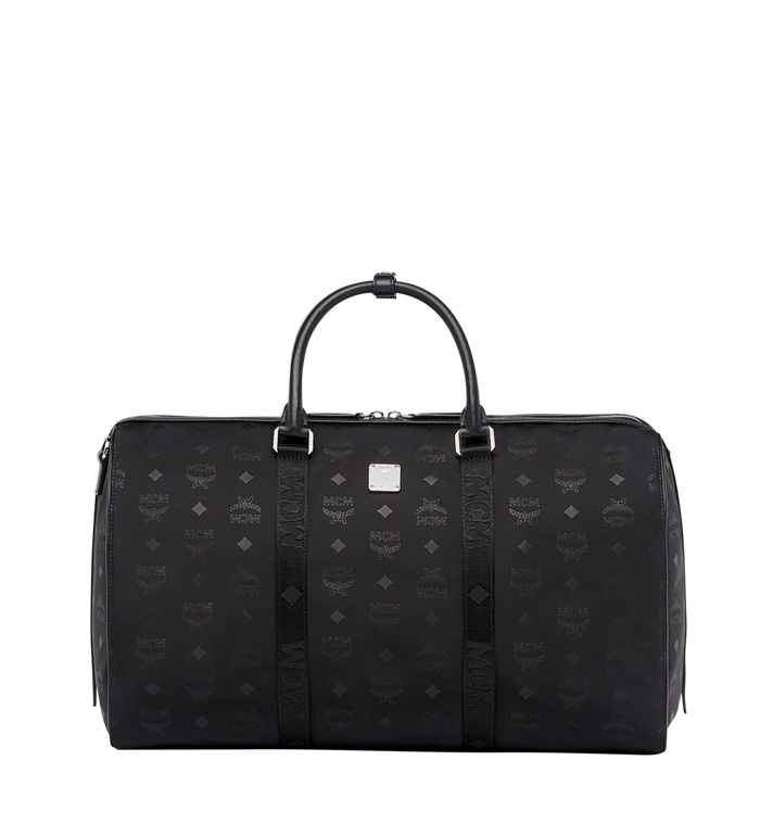 MCM Traveler Weekender in Monogram Nylon Alternate View
