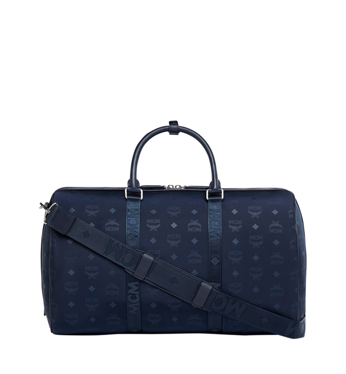 MCM Traveler Weekender in Monogram Nylon Alternate View 4