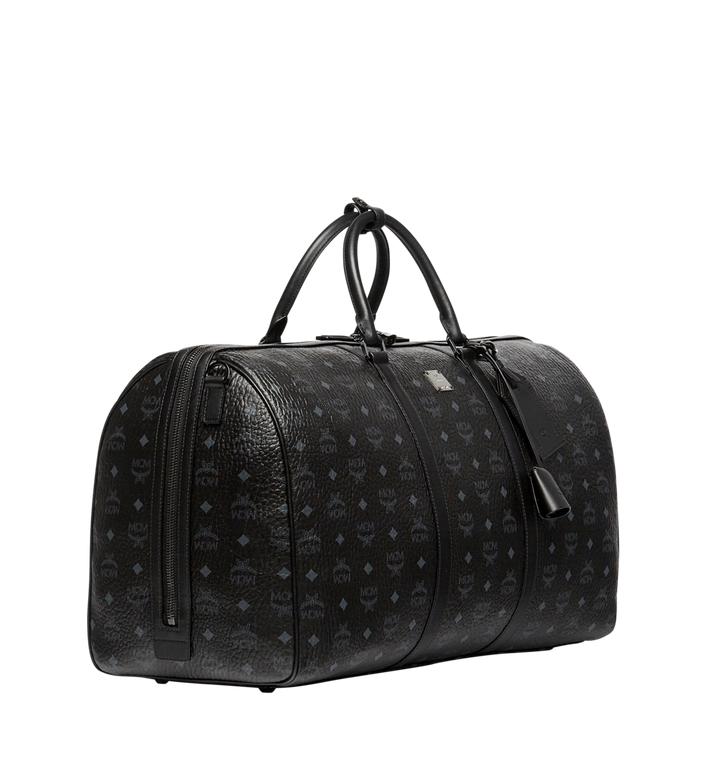 MCM Traveler Weekender in Visetos Black MUV7AVY01BK001 Alternate View 2