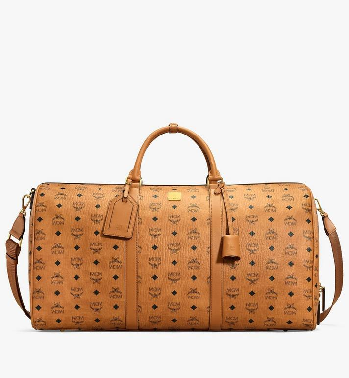 MCM Traveler Weekender in Visetos MUV7AVY01CO001 AlternateView