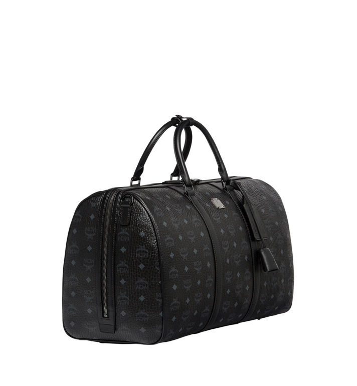 MCM Traveler Weekender in Visetos Black MUV7AVY02BK001 Alternate View 2