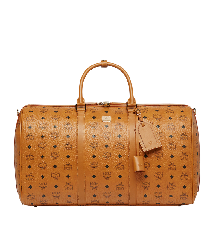 MCM Traveler Weekender in Visetos Alternate View