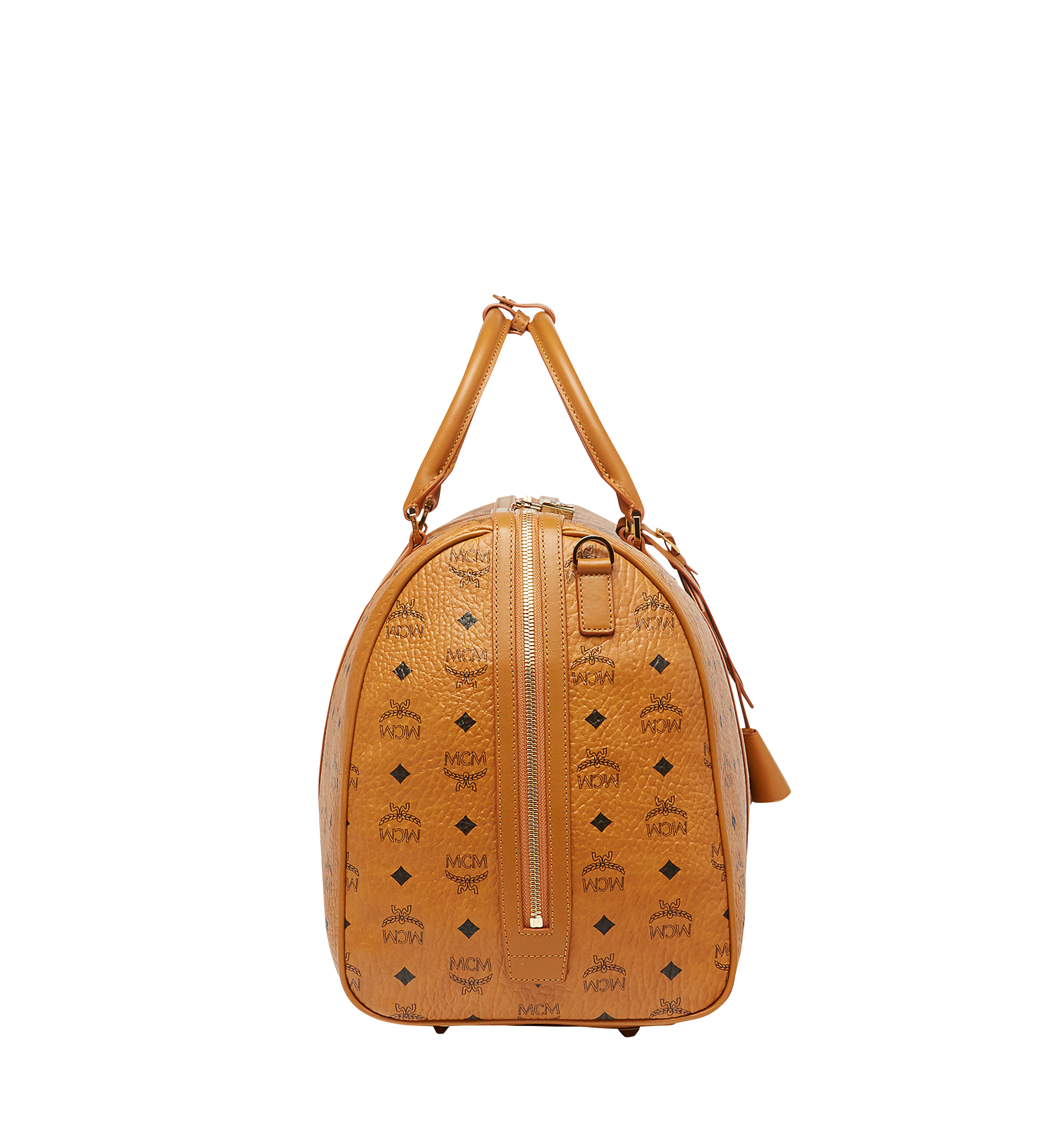 MCM Sac week-end Traveler en Visetos Cognac MUV7AVY02CO001 Plus de photos 2