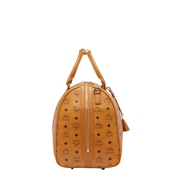 MCM Traveler Weekender in Visetos Cognac MUV7AVY02CO001 Alternate View 3