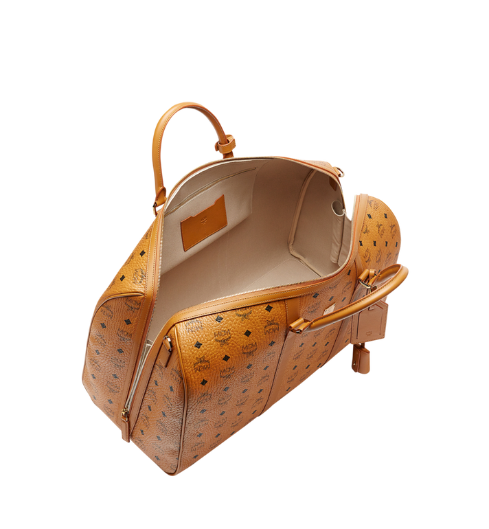 MCM Traveler Weekender in Visetos Cognac MUV7AVY02CO001 Alternate View 5