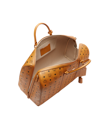 MCM Traveler Weekender in Visetos Alternate View 5