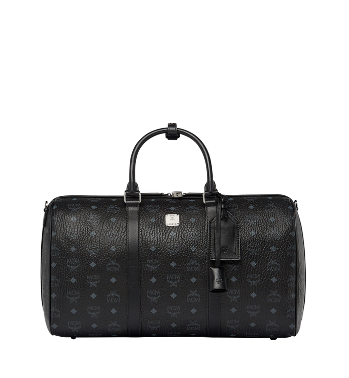 MCM Traveler Weekender in Visetos MUV7AVY03BK001 AlternateView