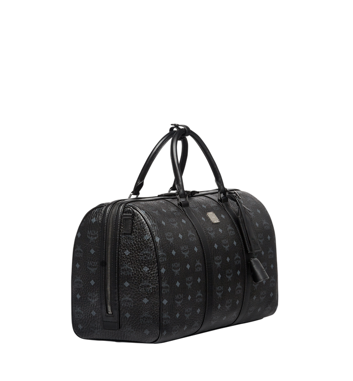 MCM Traveler Weekender in Visetos MUV7AVY03BK001 AlternateView2
