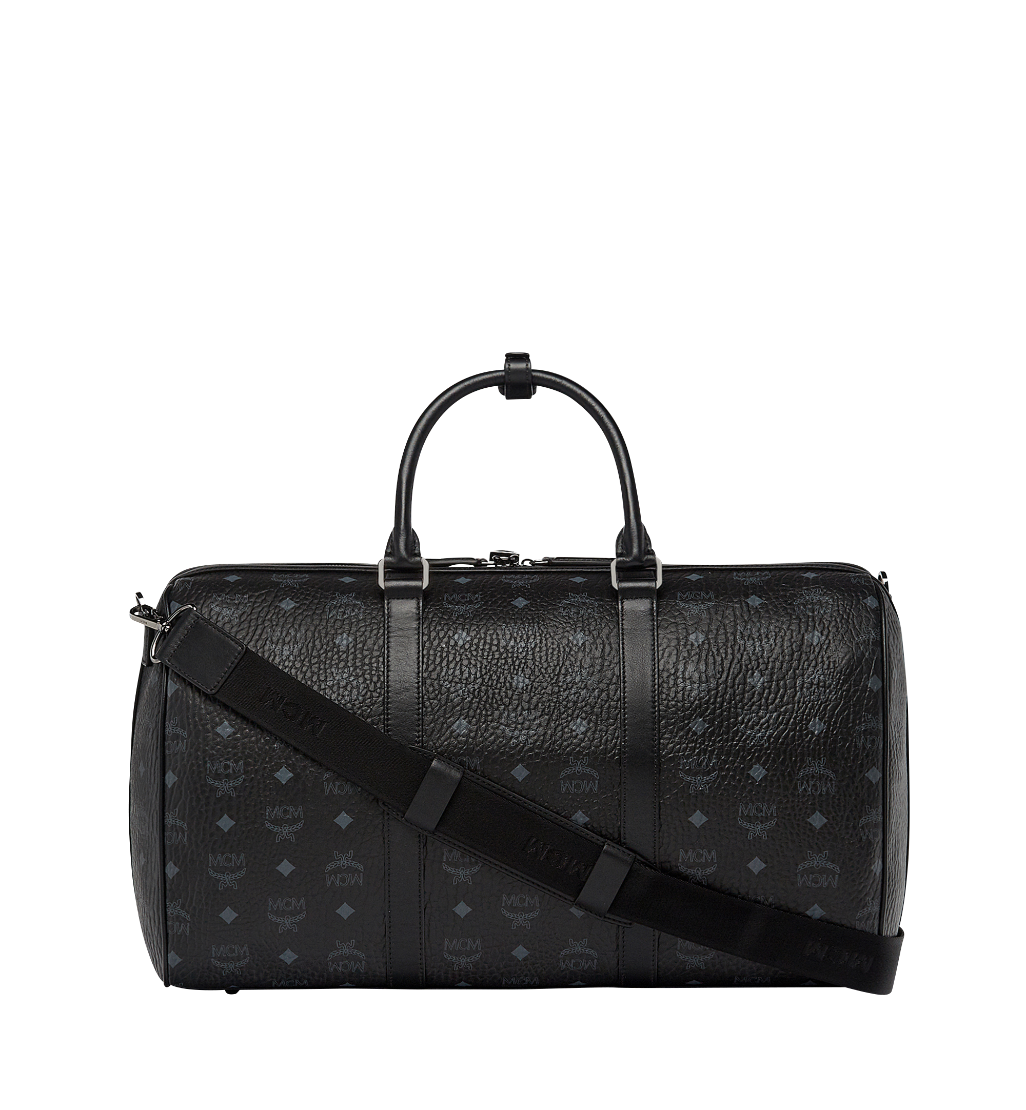 MCM Sac week-end Traveler en Visetos Black MUV7AVY03BK001 Plus de photos 2