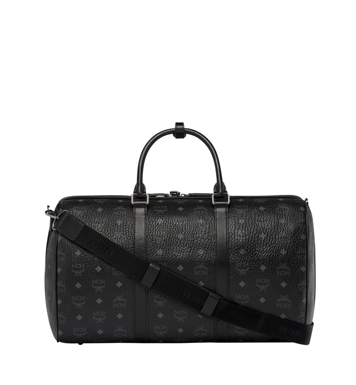 MCM Traveler Weekender in Visetos Black MUV7AVY03BK001 Alternate View 3
