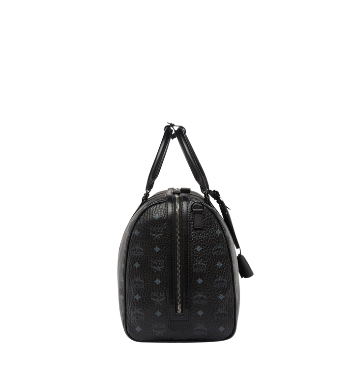 MCM Traveler Weekender in Visetos Black MUV7AVY03BK001 Alternate View 4