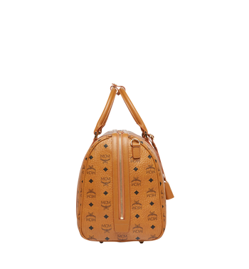 MCM Traveler Weekender in Visetos Cognac MUV7AVY03CO001 Alternate View 3