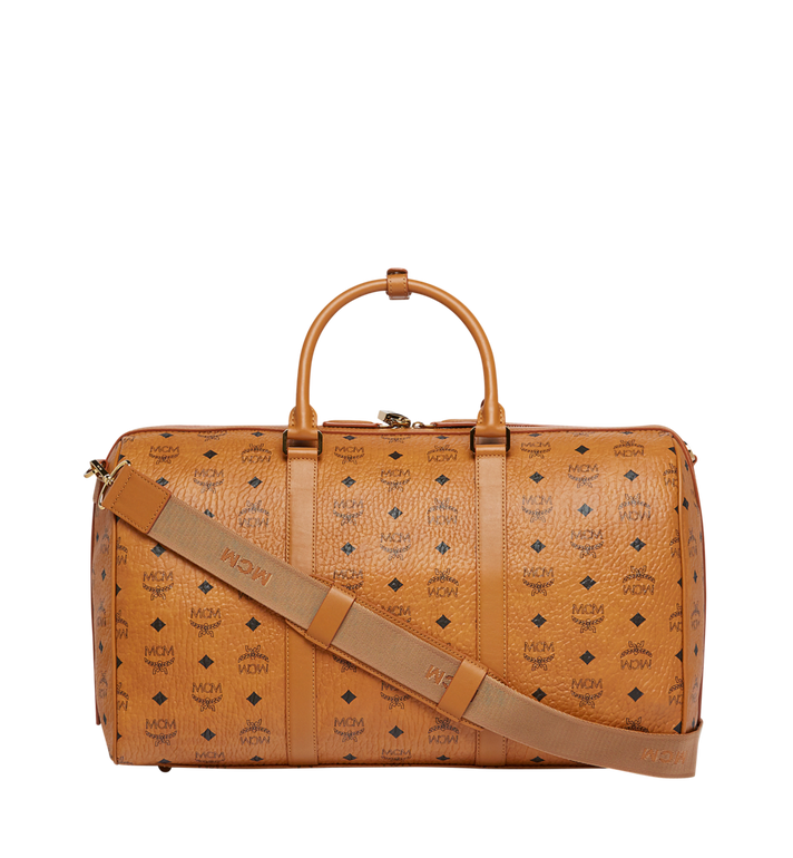 MCM Traveler Weekender in Visetos MUV7AVY03CO001 AlternateView4