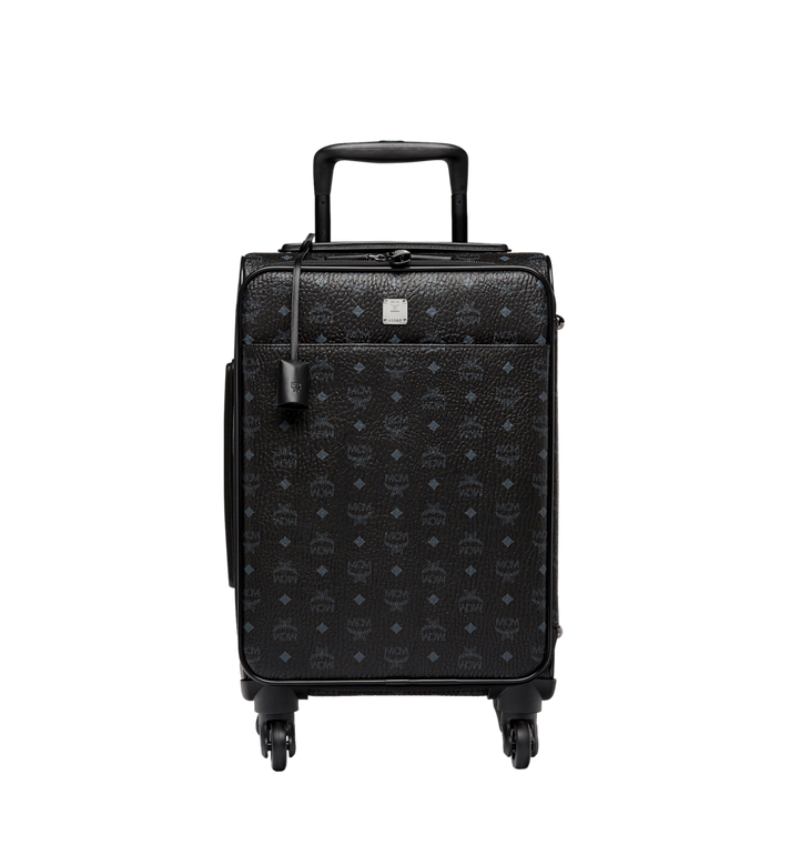 MCM Traveler Cabin Trolley in Visetos MUV8SVY04BK001 AlternateView