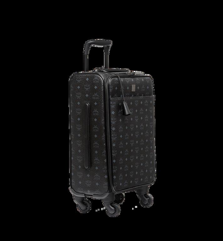 MCM Sac à roulettes pour cabine Traveler en Visetos Black MUV8SVY04BK001 Alternate View 2