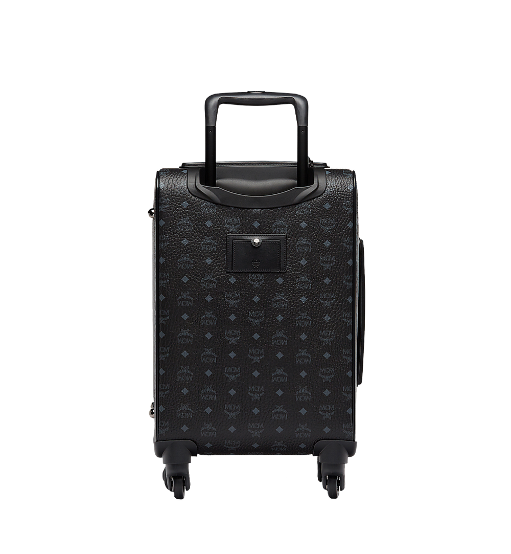 MCM Visetos 箱式推車旅行箱 Black MUV8SVY04BK001 更多視圖 3