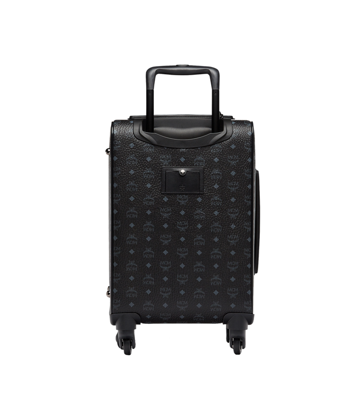 MCM Traveler Cabin Trolley in Visetos MUV8SVY04BK001 AlternateView4