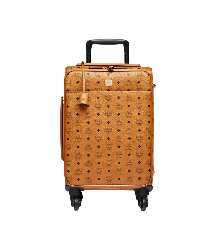MCM Traveler Cabin Trolley in Visetos MUV8SVY04CO001 AlternateView
