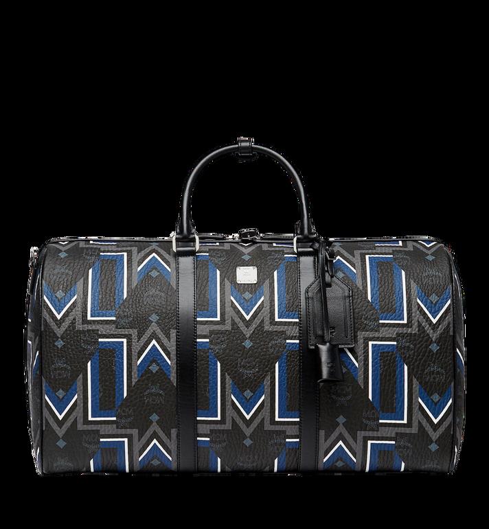 MCM Traveler Weekender-Tasche in Gunta Stripe Visetos Alternate View