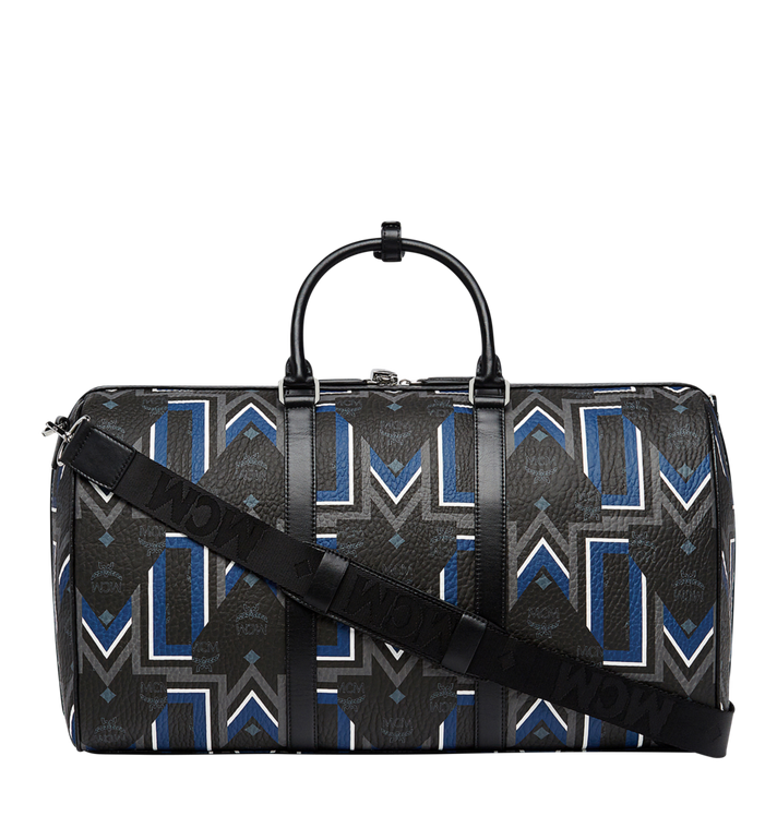 MCM Traveler Weekender-Tasche in Gunta Stripe Visetos Alternate View 4
