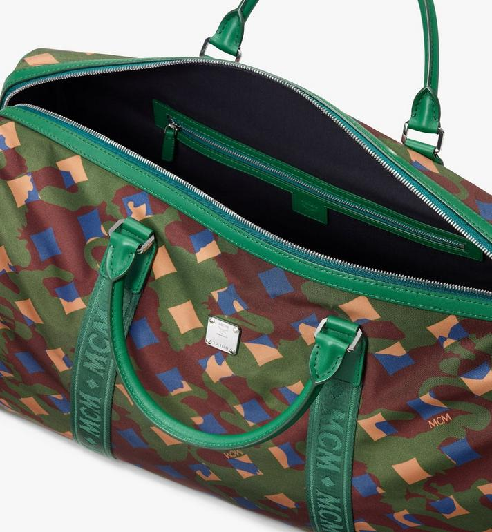 MCM Dieter Weekender Bag in Munich Lion Camo Alternate View 4