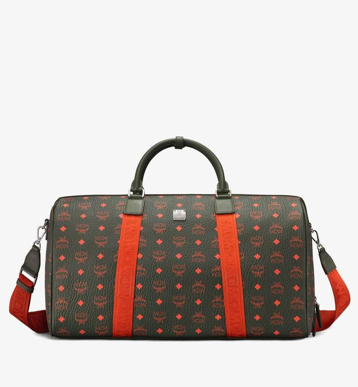 MCM Traveler Weekender Bag in Visetos Alternate View 1