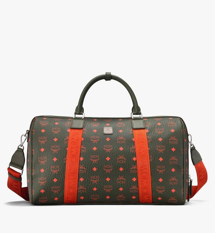 MCM Traveler Weekender Bag in Visetos  MUV9AVY21G8001 Alternate View 1