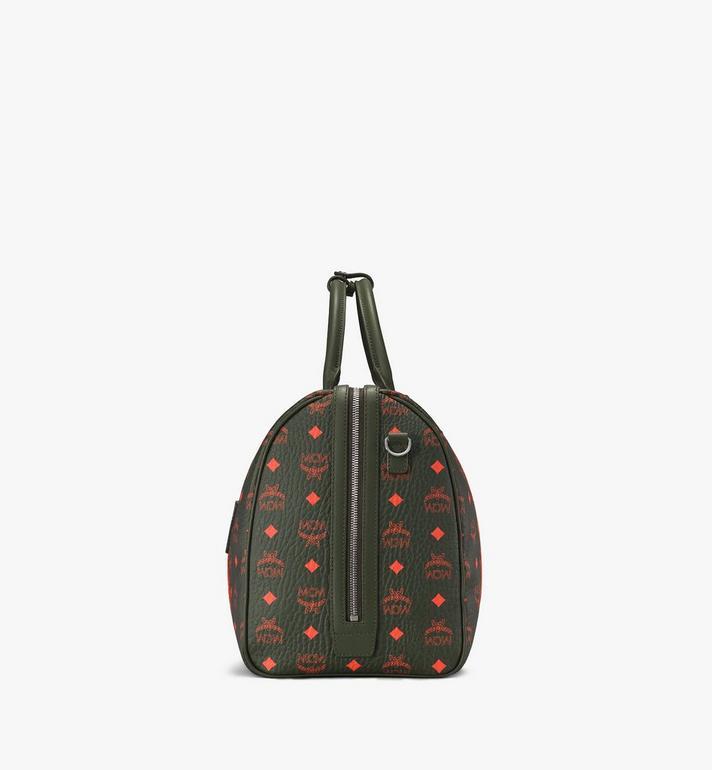 MCM Traveler Weekender Bag in Visetos  MUV9AVY21G8001 Alternate View 2