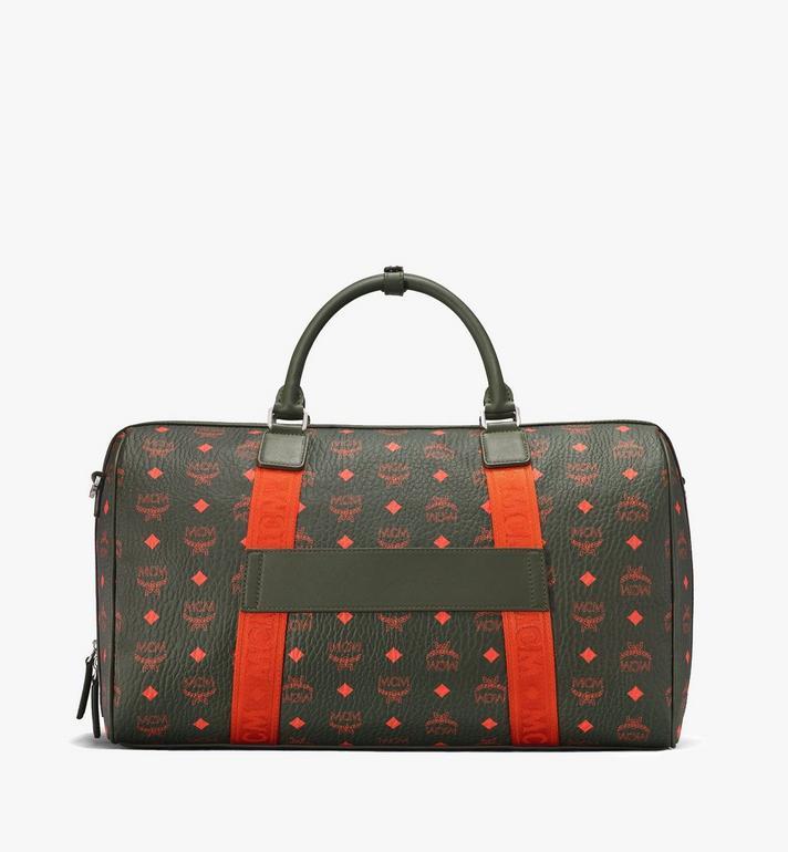 MCM Traveler Weekender Bag in Visetos  MUV9AVY21G8001 Alternate View 3