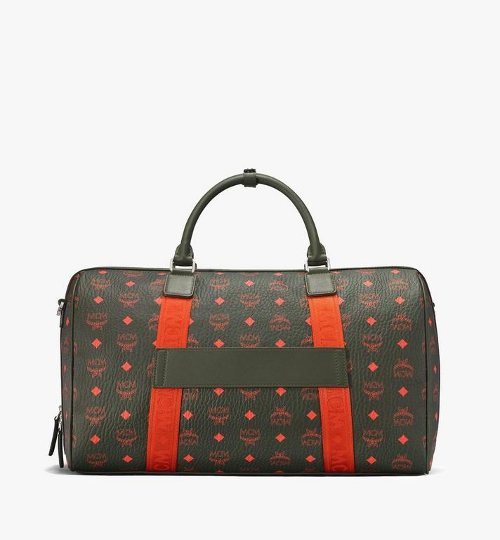 MCM Traveler Weekender Bag in Visetos  MUV9AVY21G8001 Alternate View 3