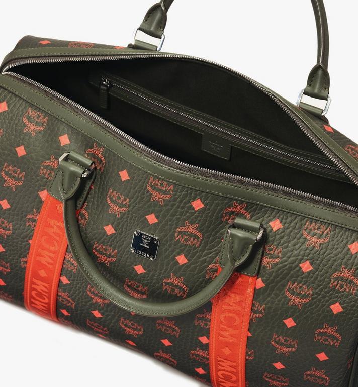 MCM Traveler Weekender Bag in Visetos  MUV9AVY21G8001 Alternate View 4